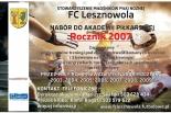 Nabór do Akademii Piłkarskiej FC Lesznowola - rocznik 2007
