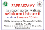 Nordic walking z nutką historii w Piasecznie