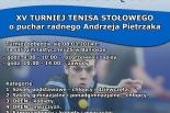 XV Turniej Tenisa Stołowego w Górze Kalwarii