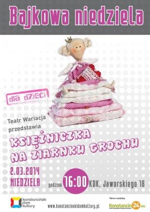 Bajkowa niedziela z teatrem Wariacja w Konstancinie