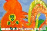 Wystawa prac dzieci w Przystanku Kultura