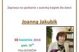 Spotkanie z pisarką Joanną Jakubik w Piasecznie