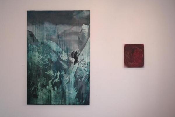 Wystawa malarstwa Aleksandra Ryszki w Przystanku Kultura