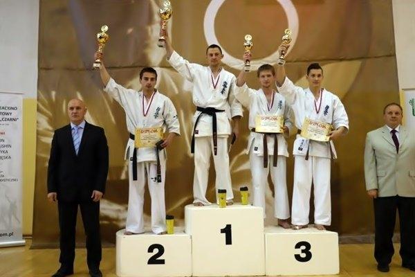 Michał Kalmus Wicemistrzem Polski w Karate Kyokushin