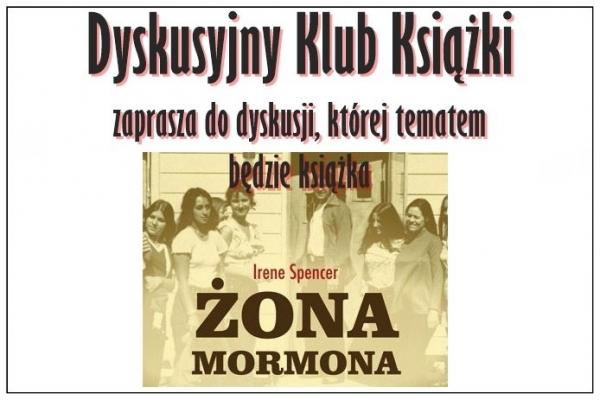 Żona Mormona w Dyskusyjnym Klubie Książki