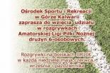 Rusza Amatorska Liga Piłkarska - Sportika 2014