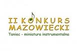 II Mazowiecki Konkurs Taniec – miniatura instrumentalna