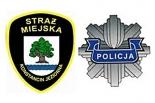 Strażnicy i policjanci wspólnie patrolują ulice Konstancina