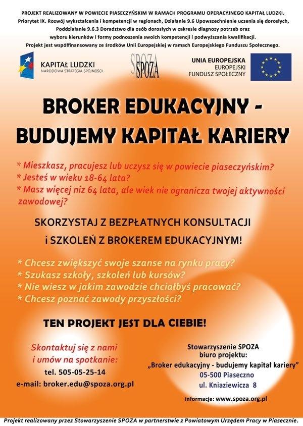 Bezpłatny projekt edukacyjny dla mieszkańców powiatu piaseczyńskiego