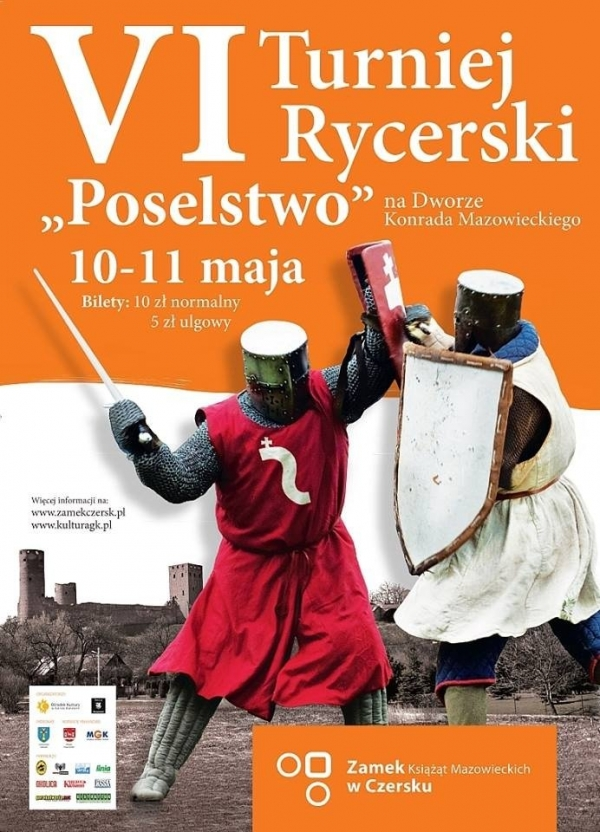 VI Turniej Rycerski na Dworze Konrada Mazowieckiego w Czersku