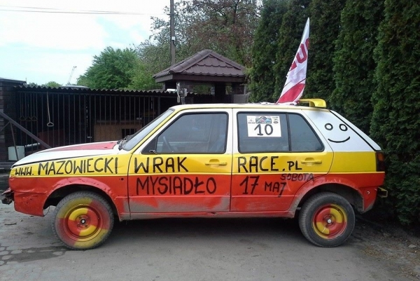 Mazowiecki WRAK RACE rajd dla zuchwałych i wytrwałych