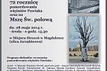 Uroczystości upamiętniające 72. rocznicę  rozstrzelania więźniów Pawiaka na wzgórzach Magdalenki