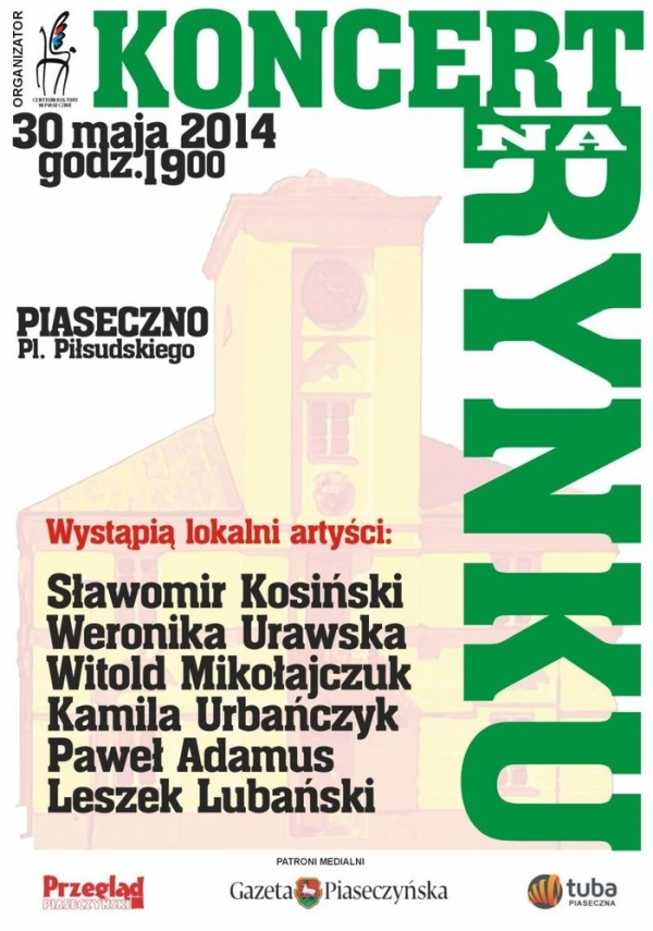 Koncert na rynku w Piasecznie