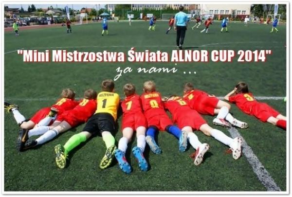 """I edycja Turnieju Piłkarskiego pn. """"Mini Mistrzostwa Świata ALNOR CUP 2014"""" – za nami"""