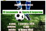 FC Lesznowola vs Sparta II Jazgarzew - mecz o awans