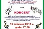 Koncert i spektakl teatralny w Starej Iwicznej