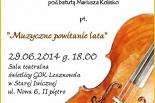 MUZYCZNE POWITANIE LATA z Lesznowolską Orkiestrą Symfoniczną