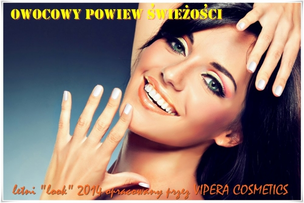 Energetyczne i dziewczęce kontrasty w letnim makijażu VIPERA COSMETICS