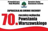 70. rocznica wybuchu Powstania Warszawskiego w Konstancinie