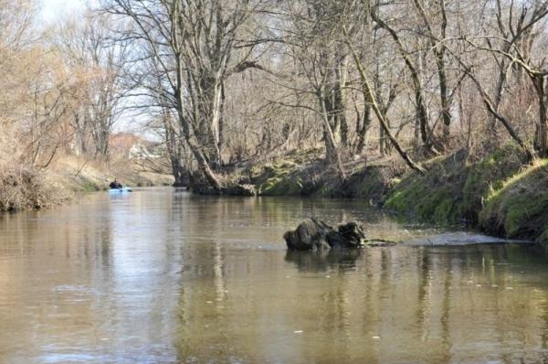 Ekospływ - sprzątanie Jeziorki
