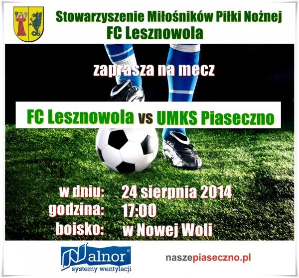 FC Lesznowola vs UMKS Piaseczno