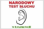 Narodowy Test Słuchu w Lesznowoli