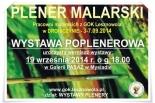 Plener artystyczny pracowni malarskich w GOK Lesznowola