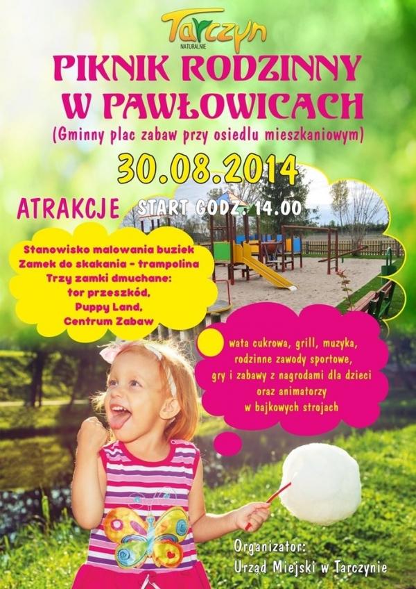 Piknik rodzinny w Pawłowicach