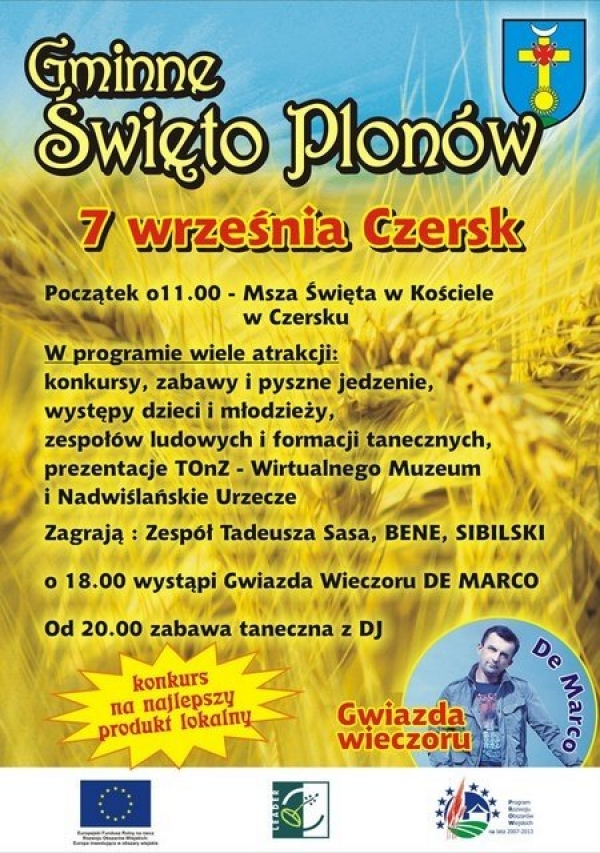 Gminne Święto Plonów w Czersku