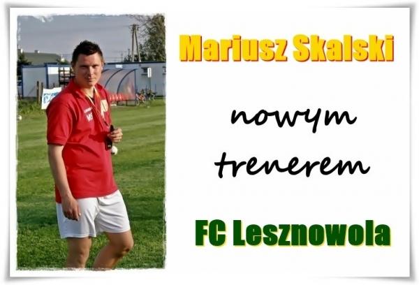 Zmiany w sztabie szkoleniowym pierwszej drużyny FC Lesznowola