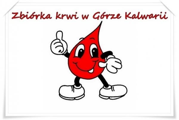 Zbiórka krwi w Górze Kalwarii