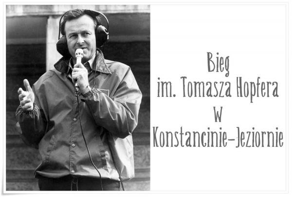 Bieg im. Tomasza Hopfera w Konstancinie-Jeziornie - zapisy trwają