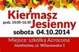 Ekologiczny Kiermasz Jesienny w Józefosławiu