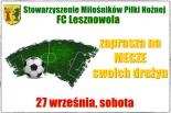 FC LESZNOWOLA ZAPRASZA NA PIŁKARSKĄ SOBOTĘ