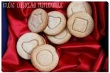 Kruche ciasteczka marcepanowe