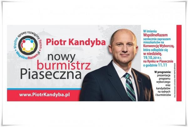 Konwencja wyborcza KWW WspólneRazem w Piasecznie