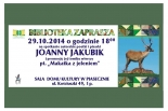 Wieczór promocyjny tomiku poezji Joanny Jakubik w Piasecznie