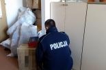 Nielegalny towar w Wólce Kosowskiej