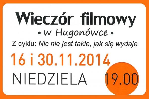 Wieczór filmowy w Hugonówce