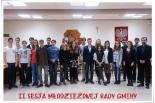 II sesja Młodzieżowej Rady Gminy