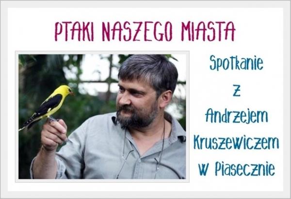 Spotkanie z Andrzejem Kruszewiczem w Piasecznie