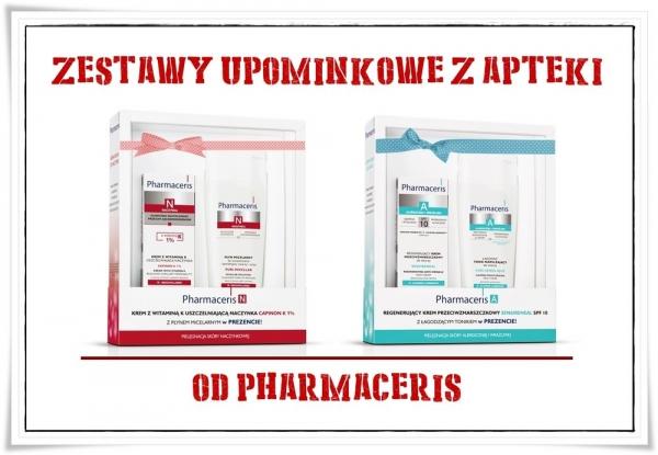 Zestawy upominkowe z apteki od Pharmaceris