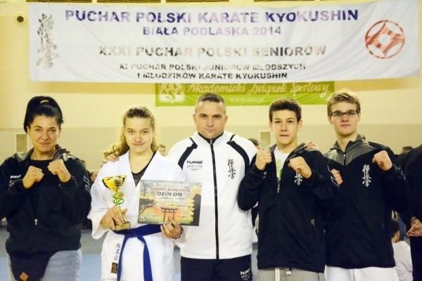 Srebrny medal dla Patrycji Lewandowskiej w karate kyokushin
