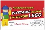 Największa w Polsce Wystawa Budowli z Klocków LEGO na Stadionie Narodowym