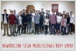 Noworoczna sesja Młodzieżowej Rady Gminy