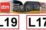 Zmiana tras i rozkładów kursowania linii L17 i L19
