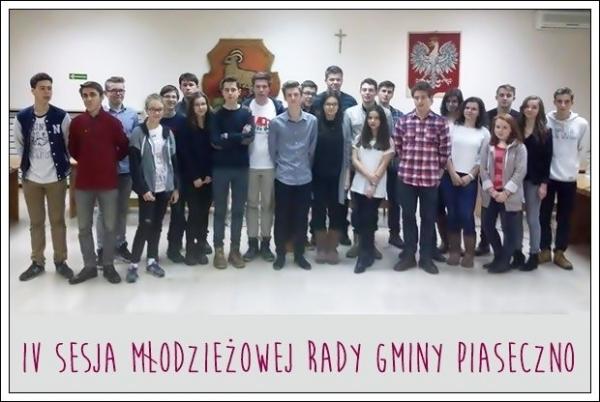 IV sesja Młodzieżowej Rady Gminy Piaseczno