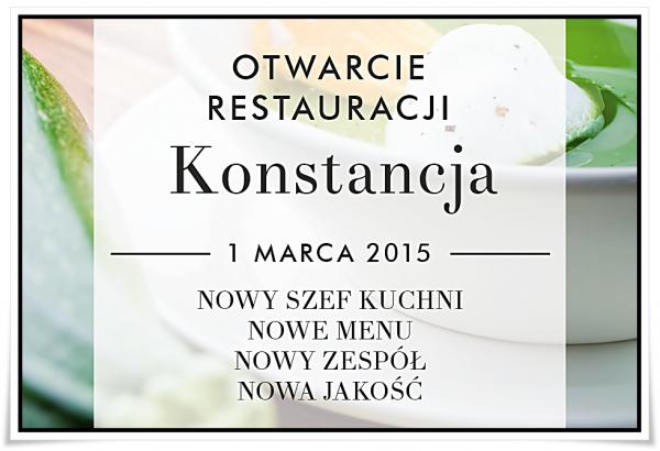 Otwarcie Restauracji Konstancja w Konstancinie-Jeziornie