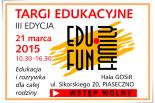 III edycja targów edukacyjnych EDU FUN FAMILY - ZAPROSZENIE DLA WYSTAWCÓW