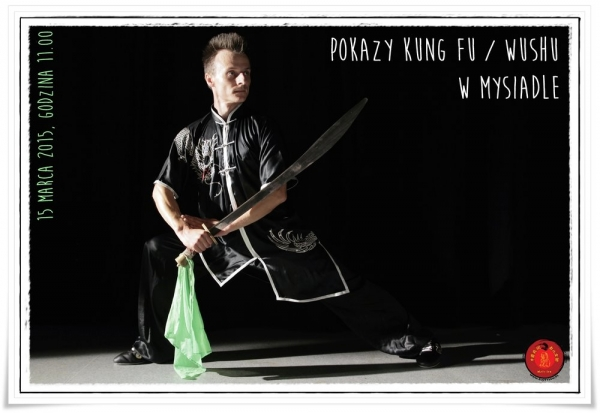 Pokazy Kung Fu / Wushu w Mysiadle